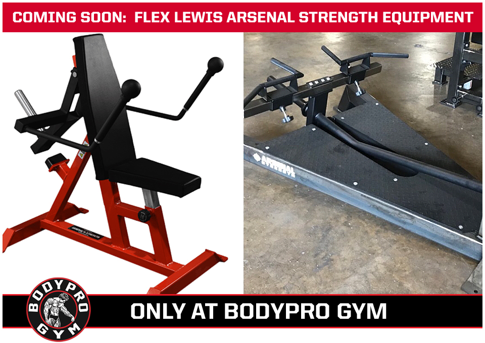 Coming Soon - Flex Lewis Arsenal Strength Equipment